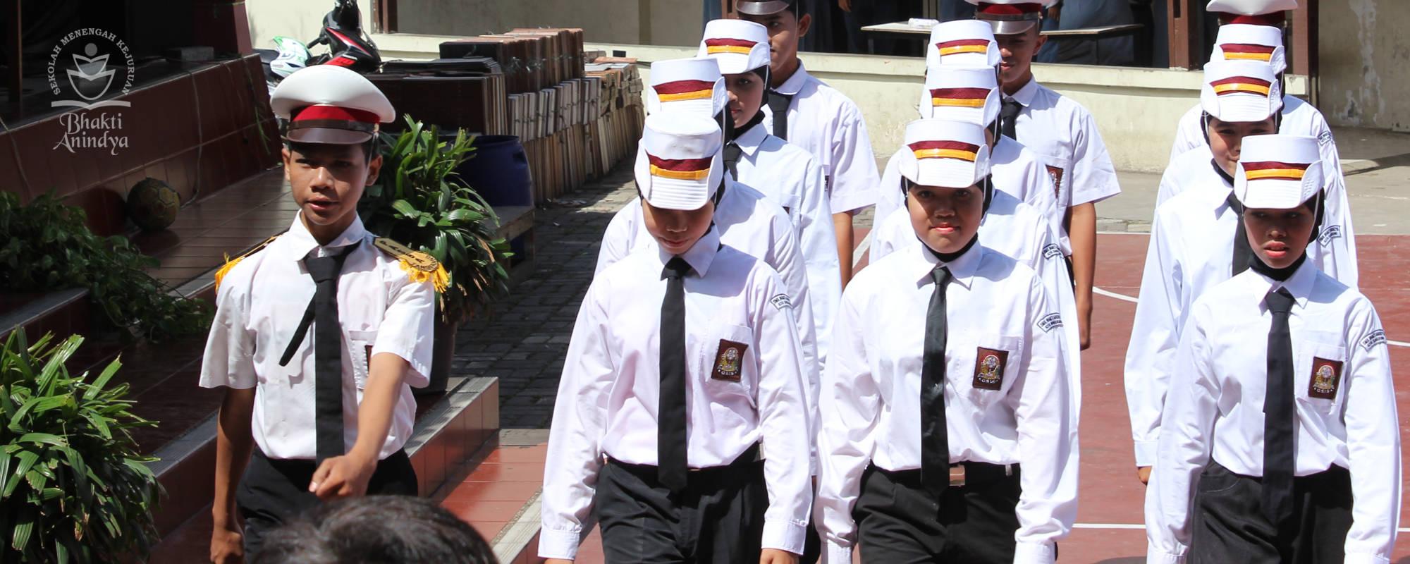 ekskul paskib SMK Bhakti Anindya Tangerang
